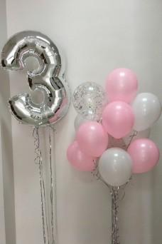 Набор на празднование 3 лет для девочки