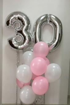 Букет из шаров на 30 лет девушке