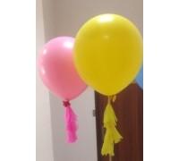 Два воздушных шара Гиганта с кисточками