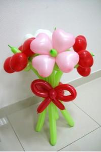 Букет из пяти цветков