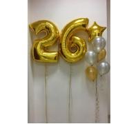 Набор шаров на 26 летие