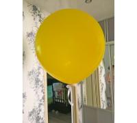 Шар гигант желтый