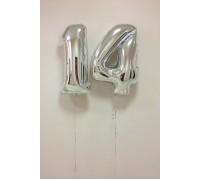 Фольгированные шары цифры 14