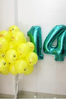 Веселый набор из шаров