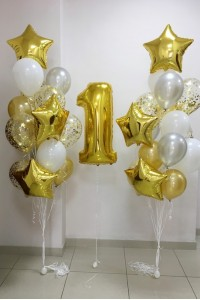 Набор из шаров на празднование 1 года
