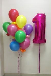 """Набор на день рождения """"Цветочный дождь"""""""