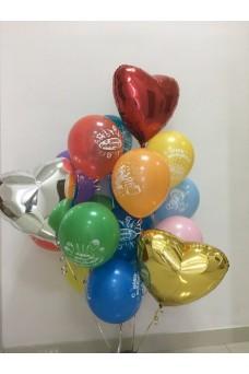 Связка из шариков на День рождения