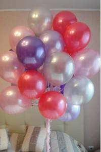 Букет шариков гелевых заказать иркутск подарок маме на 8 марта вышивка крестом