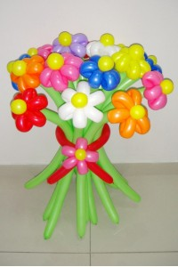 Букет из 19 цветков