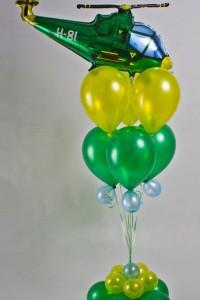 """Композиция из шаров """"Вертолёт"""""""