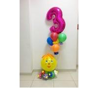 """Набор на день рождения  """"Колобок"""""""
