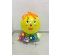 """Фигура из шаров """"Колобок"""""""