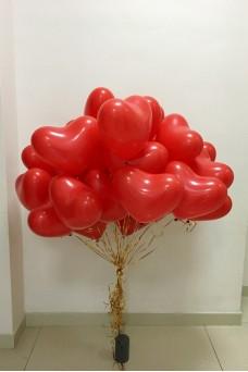 """Облако из шаров """"Моя нежная любовь"""""""